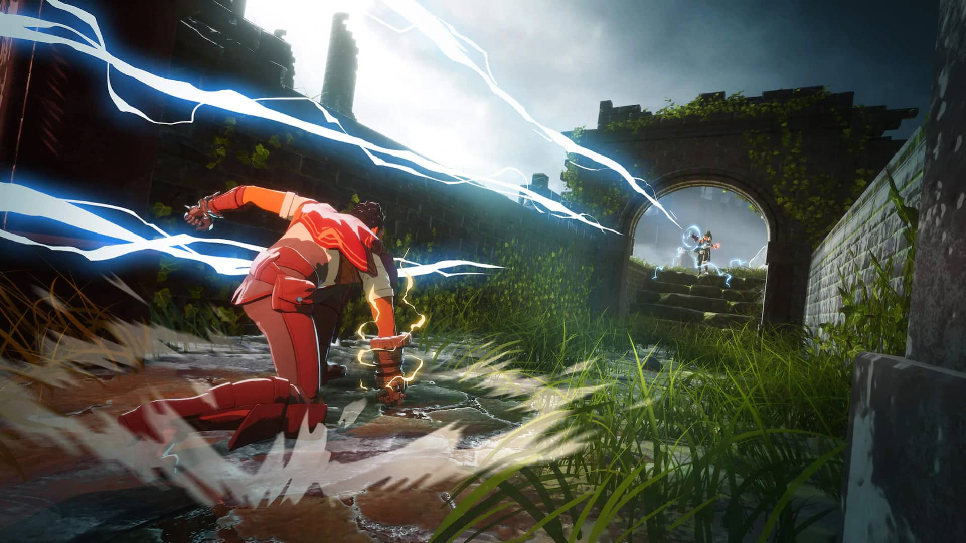 Spellbreak magic battle royale evolution future like Avatar: The Last Airbender with elemental magic