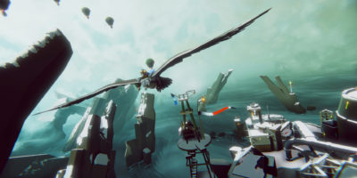 The Falconeer preview Tomas Sala giant bird dogfighting exciting flight combat, boring exposition with so-so voice acting