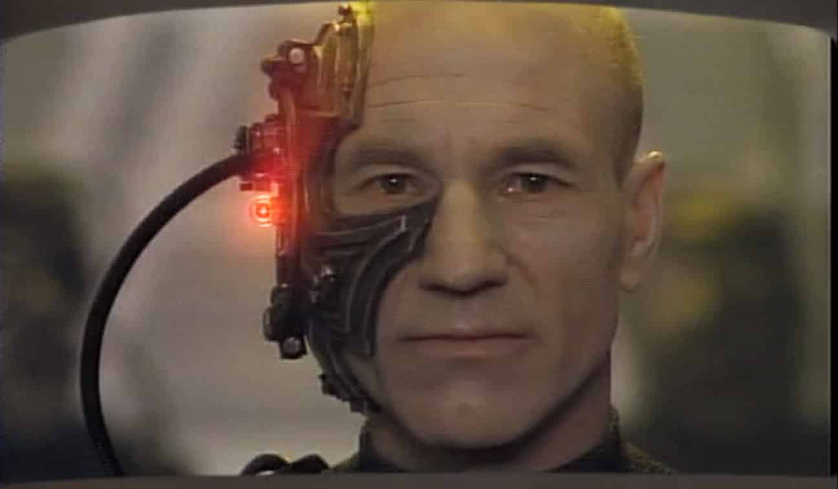 Star Trek: The Next Generation The Best of Both Worlds season 3 Picard Locutus William T. Riker