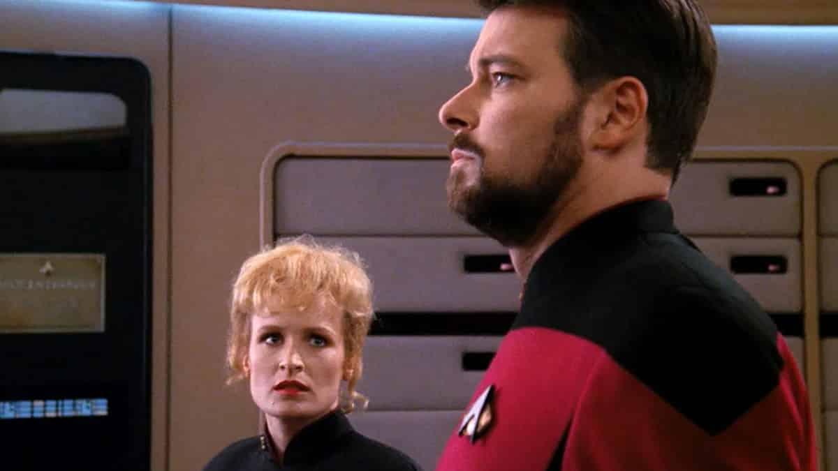 Star Trek: The Next Generation The Best of Both Worlds season 3 Picard Locutus William T. Riker TNG