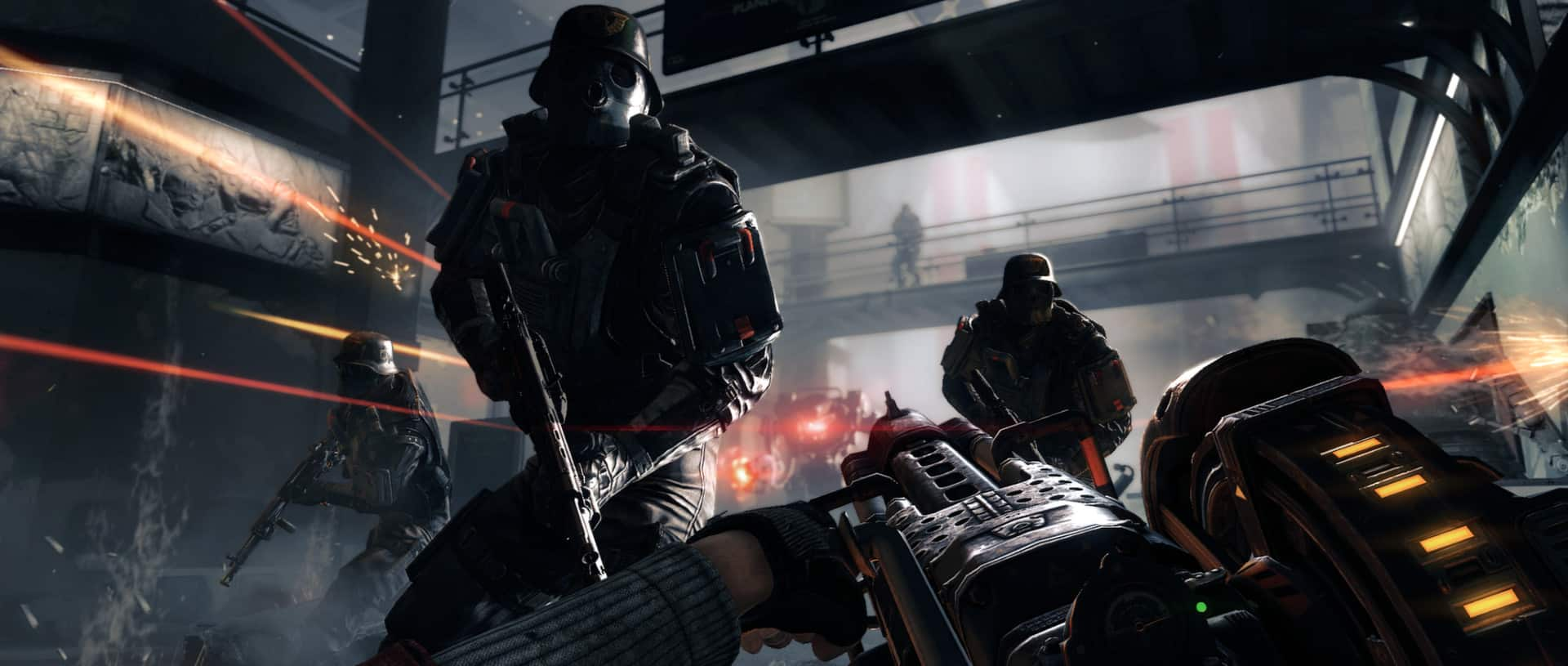 Wolfenstein: The New Order Explores the War Against Trauma with the disabled and Nazis Bethesda Machine Games