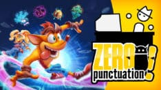Crash Bandicoot 4 Zero Punctuation review Yahtzee Croshaw Toys for Bob Activision Crash Bandicoot 4: It's About Time
