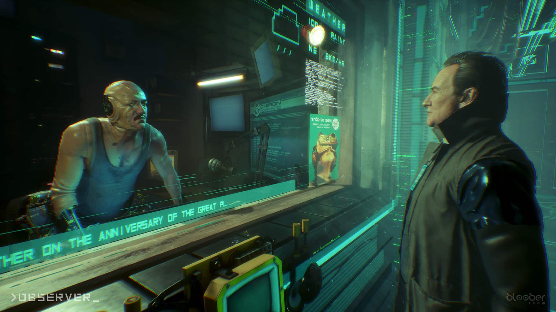 doubt reality itself in Observer, cyberpunk horror mystery from Bloober Team. Observer System Redux on PlayStation 5, Xbox Series X