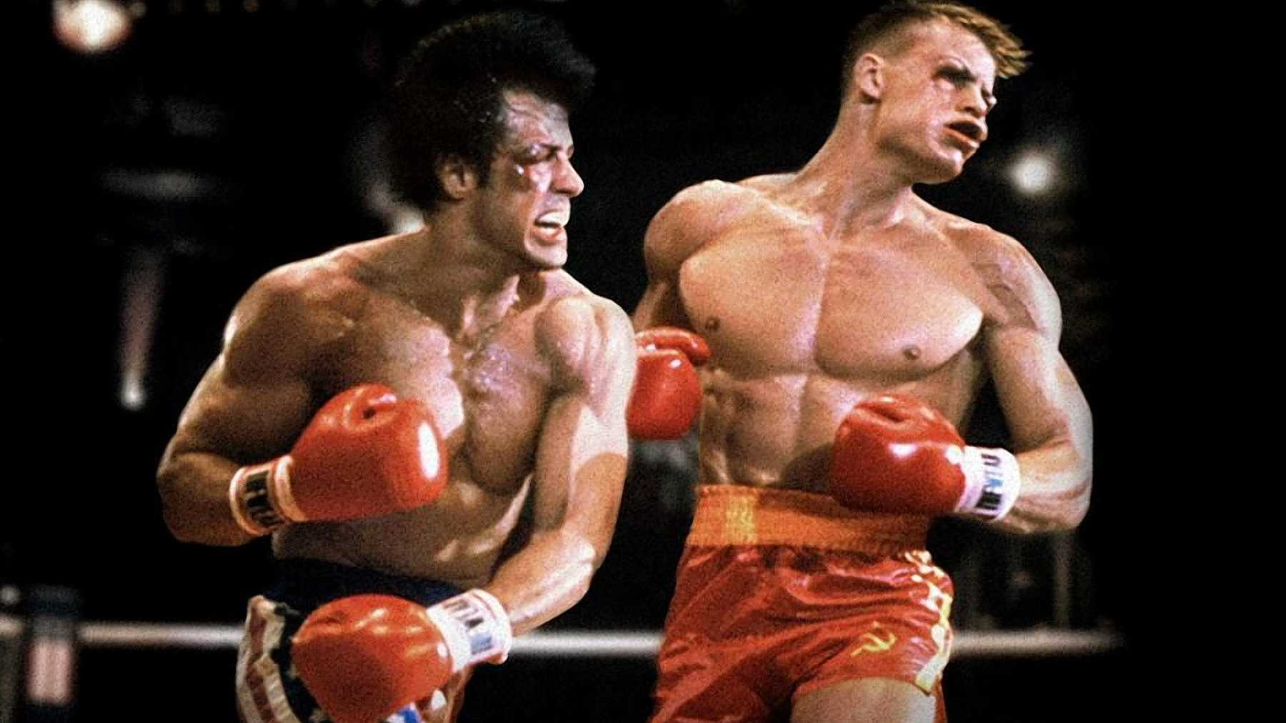 Rocky IV Ivan Drago Sylvester Stallone Rocky 4 boxing re-edit director's cut
