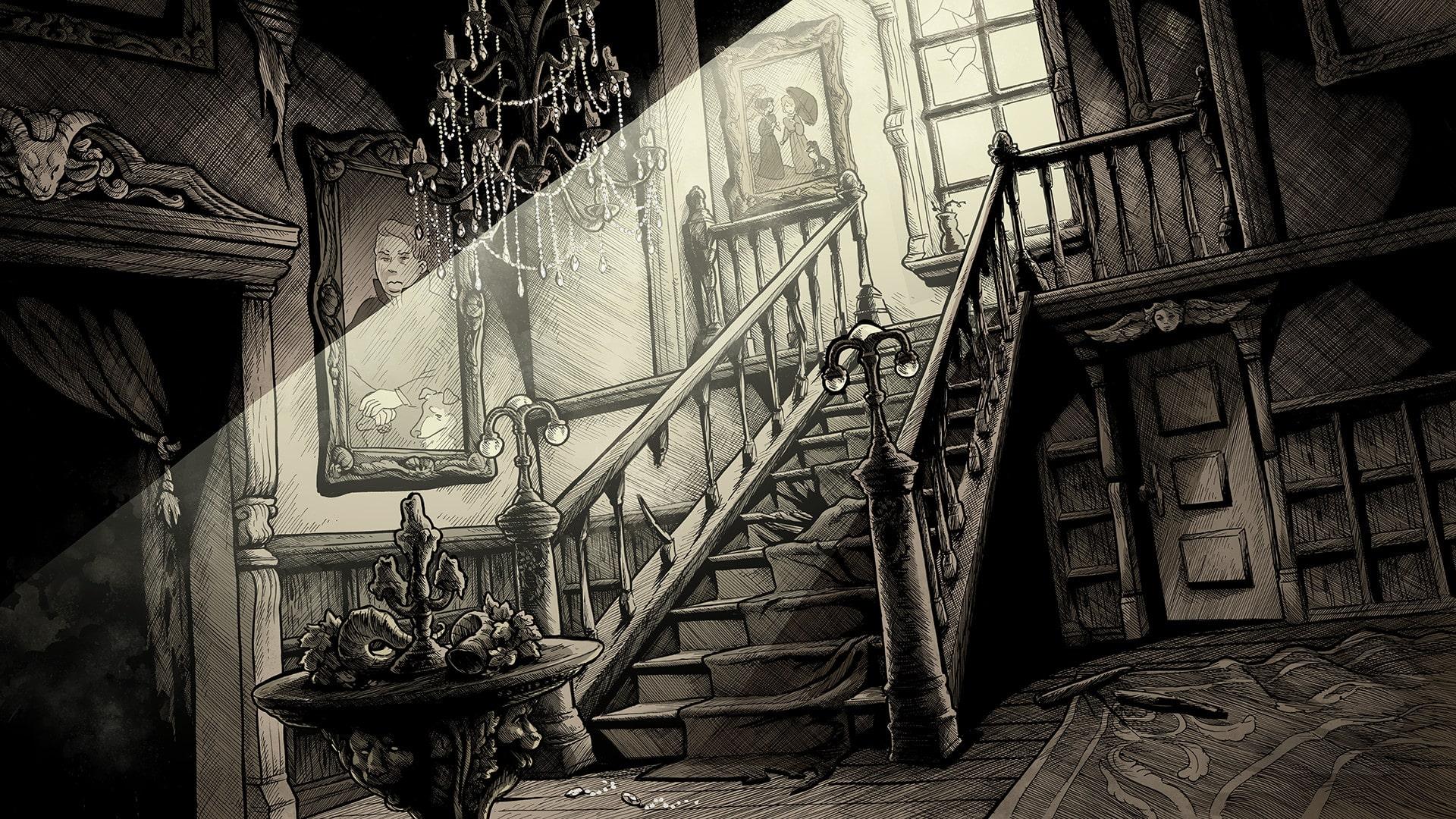 Kickstarter Scarlet Hollow visual novel free Black Tabby Games
