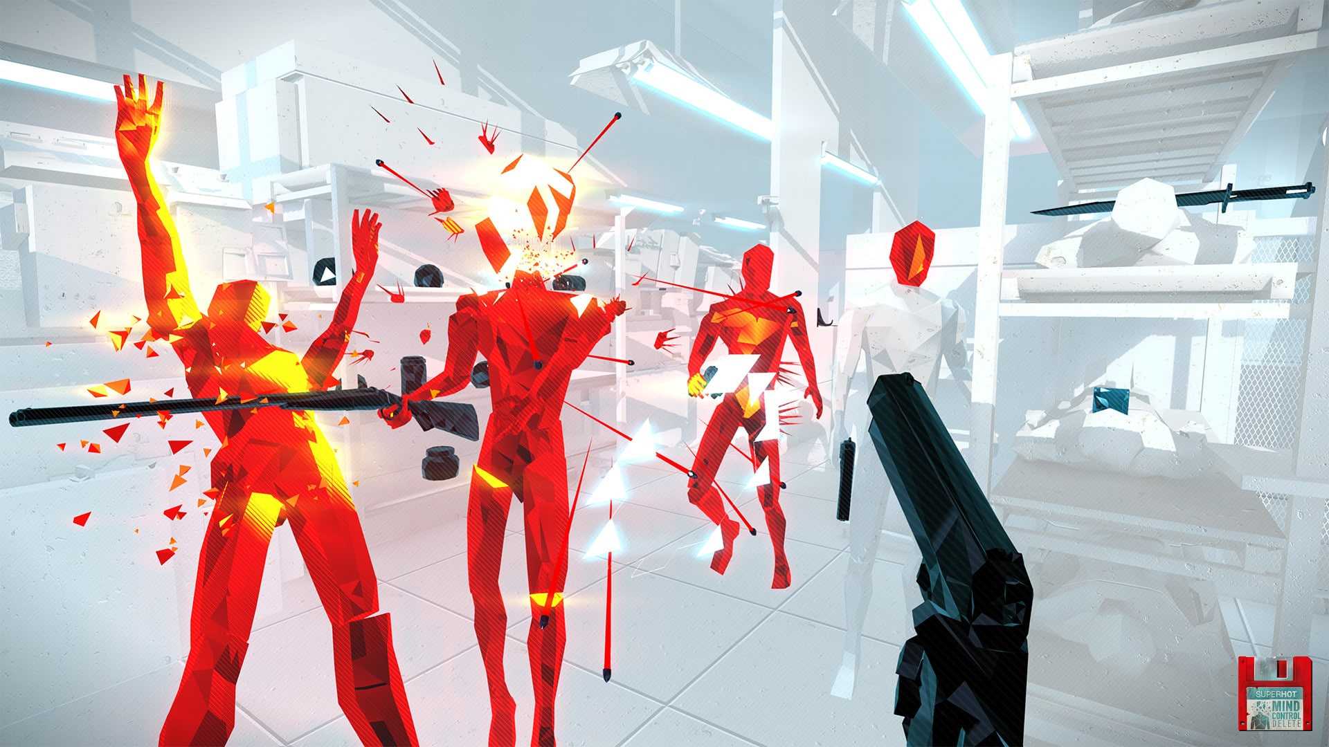 Superhot VR Superhot Team slow pace of games slower speed instead of ultra fast