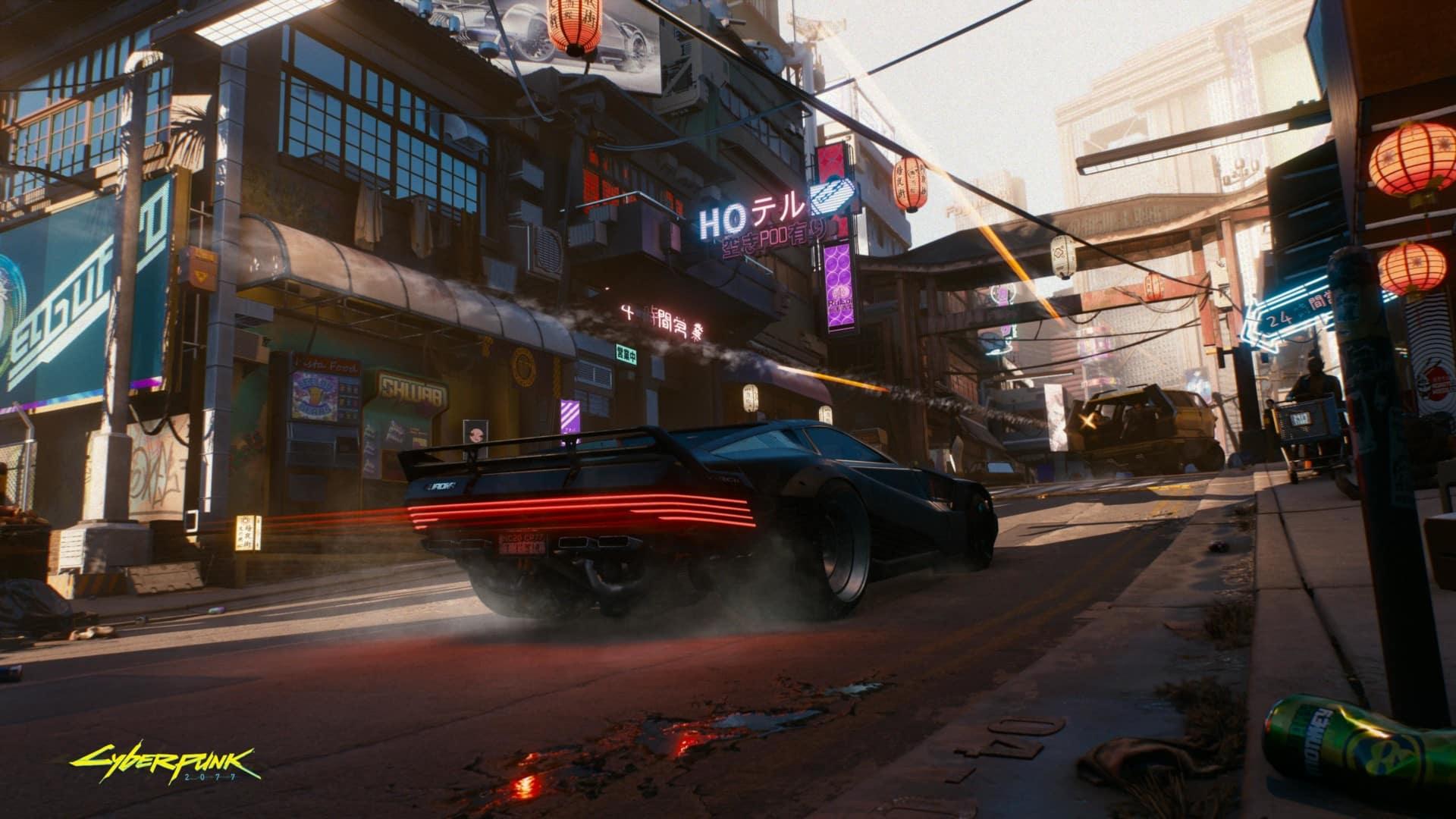 Cyberpunk 2077 xbox, CD Projekt Red, gameplay, Night City Wire, Xbox Series X