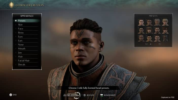 character creator, photo mode, sony, bluepoint games, Demon's Souls