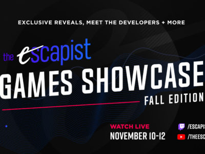 The Escapist Games Showcase - Fall Edition digital event EGLX November 10 - November 12