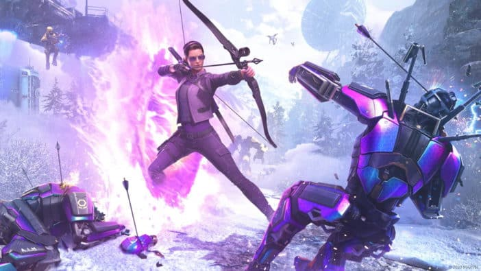 Kate Bishop, Crystal Dynamics, DLC, Hawkeye, War Table, gameplay Marvel's Avengers