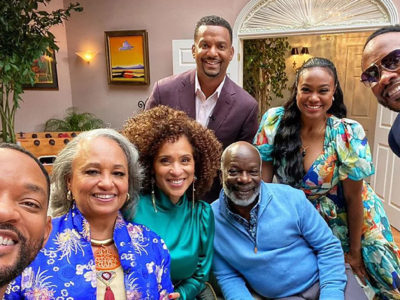 The Fresh Prince of Bel-Air Reunion Trailer Will Smith Tatyana Ali, Karyn Parsons, Joseph Marcell, Daphne Maxwell Reid, Alfonso Ribeiro, and DJ Jazzy Jeff Janet Hubert HBO Max