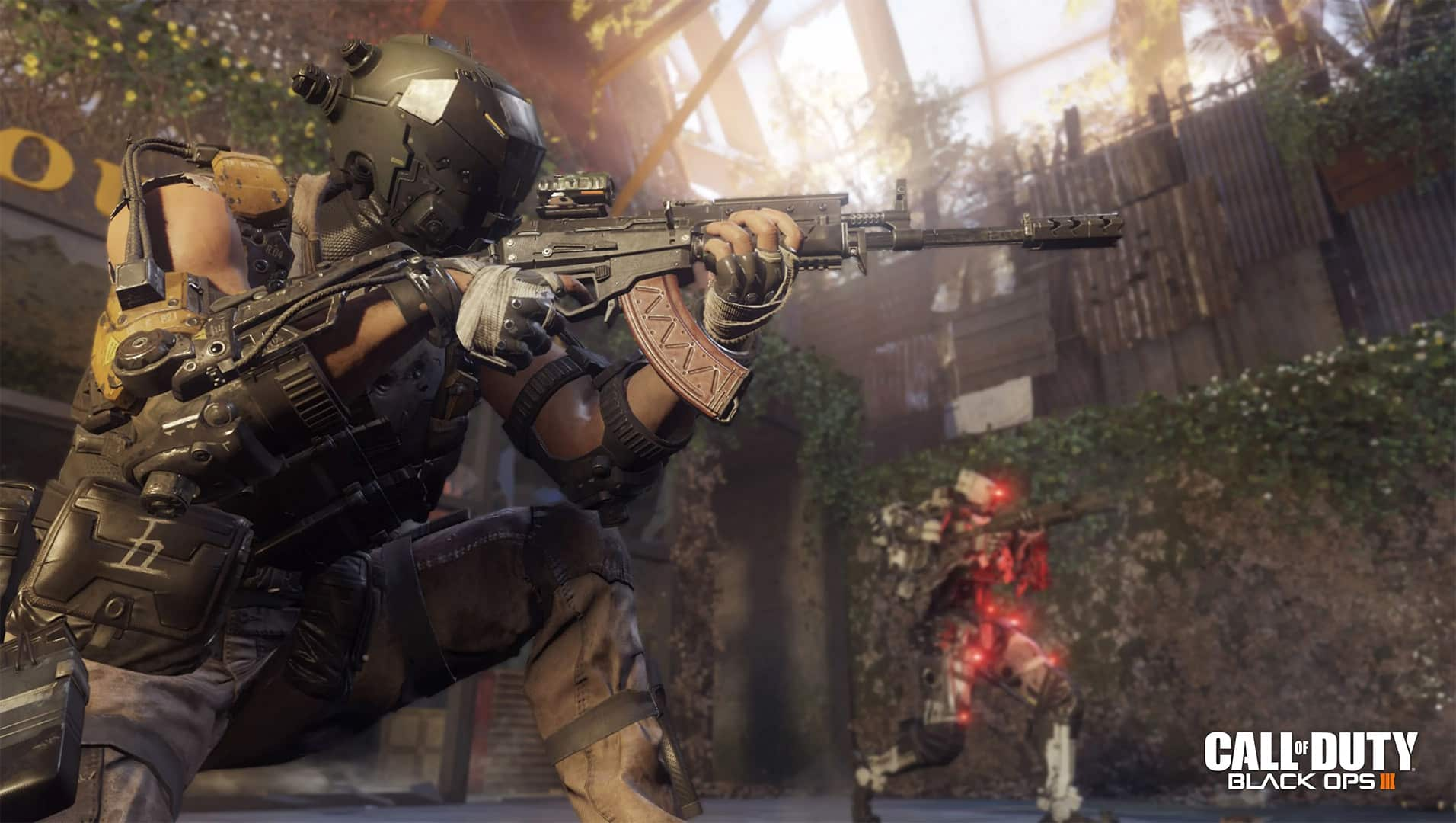 Activision Treyarch Call of Duty: Black Ops III sci-fi conspiracy thriller with excellent story, gameplay mechanics