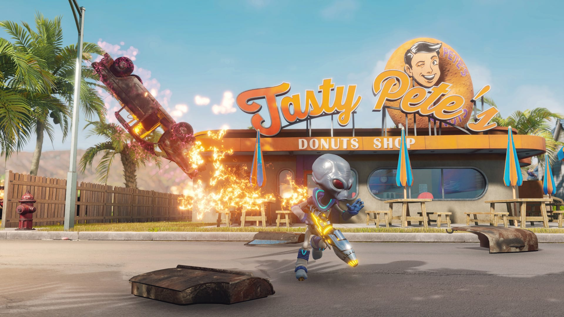 Destroy All Humans! stupid video games are good sometimes