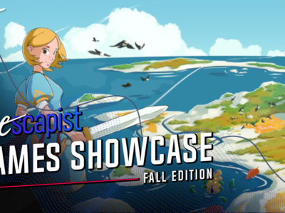 The Escapist Games Showcase - Fall Edition interview Max Mraz Yarntown Ocean's Heart