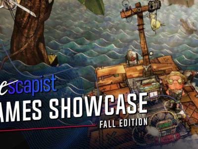 The Escapist Games Showcase - Fall Edition Trash Sailors interview Piotr Karski