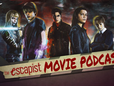 The New Mutants The Escapist Movie Podcast Jack Packard Darren Mooney Marvel Fox 20th Century Studios Uncharted Wonder Woman 1984 HBO Max The Guilty