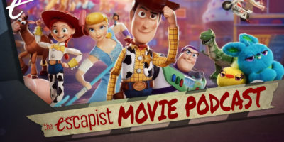25 Years After Toy Story, love Pixar - The Escapist Movie Podcast The Mandalorian A Quiet Place