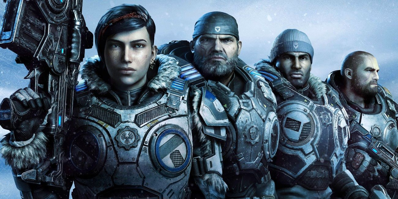 Gears 5 AAA epic journey The Coalition personal narrative Kait JD Del
