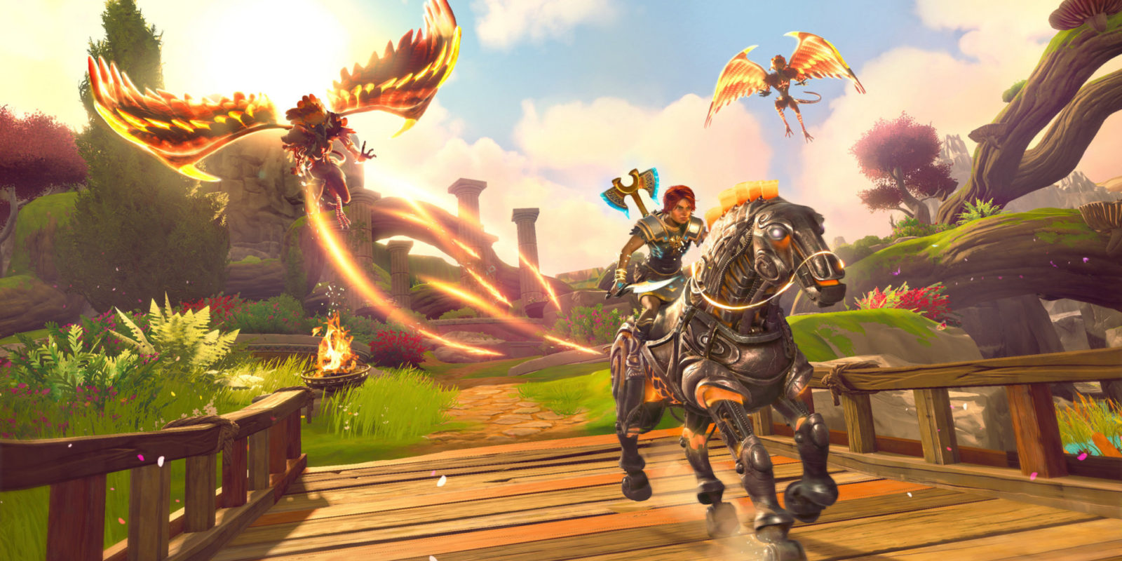 Immortals Fenyx Rising review Ubisoft Quebec like The Legend of Zelda: Breath of the Wild