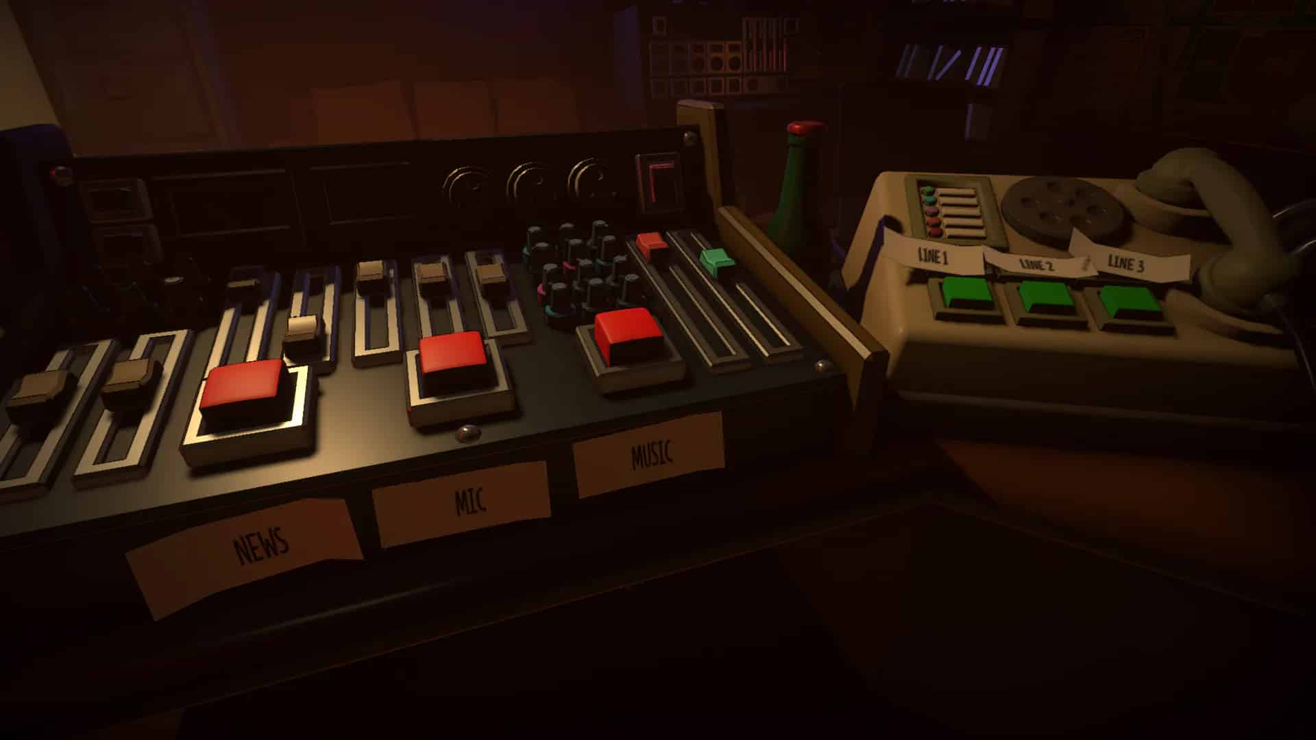 Killer Frequency Team17 free radio host murderer puzzle horror game