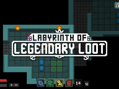 Labyrinth of Legendary Loot Dominaxis Games itch.io free roguelike