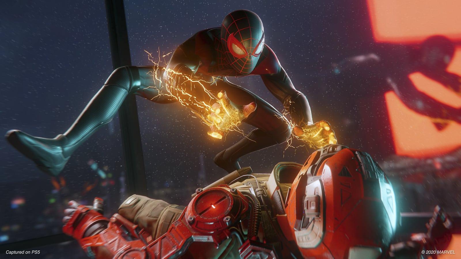 way my kid plays video games pisses me dad off Spider-Man: Miles Morales