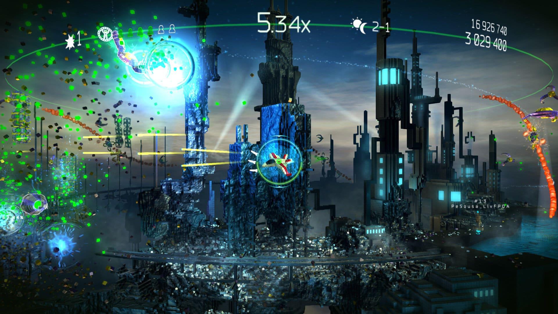 resogun console launch lineup games PlayStation 1 PlayStation 2 PlayStation 3 PlayStation 4 Xbox 360 Xbox One