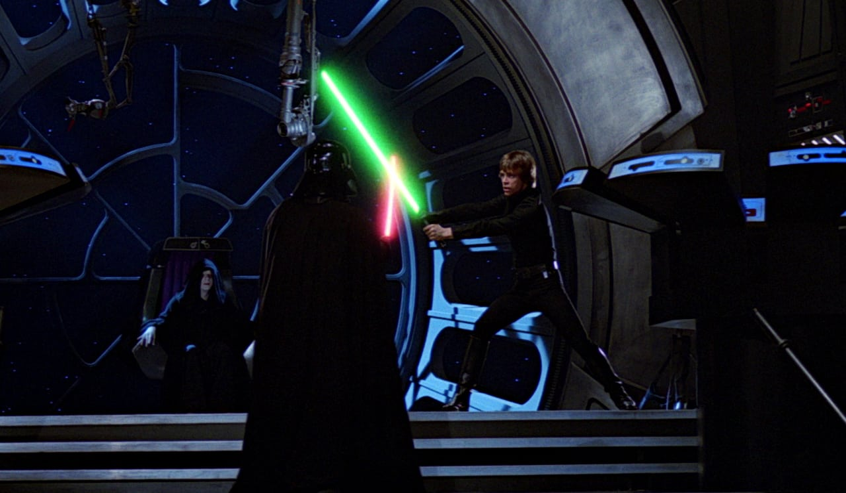 Return of the Jedi Reduced Star Wars to a Repeatable Formula George Lucas Gary Kurtz Richard Marquand Luke Skywalker Darth Vader Emperor Palpatine