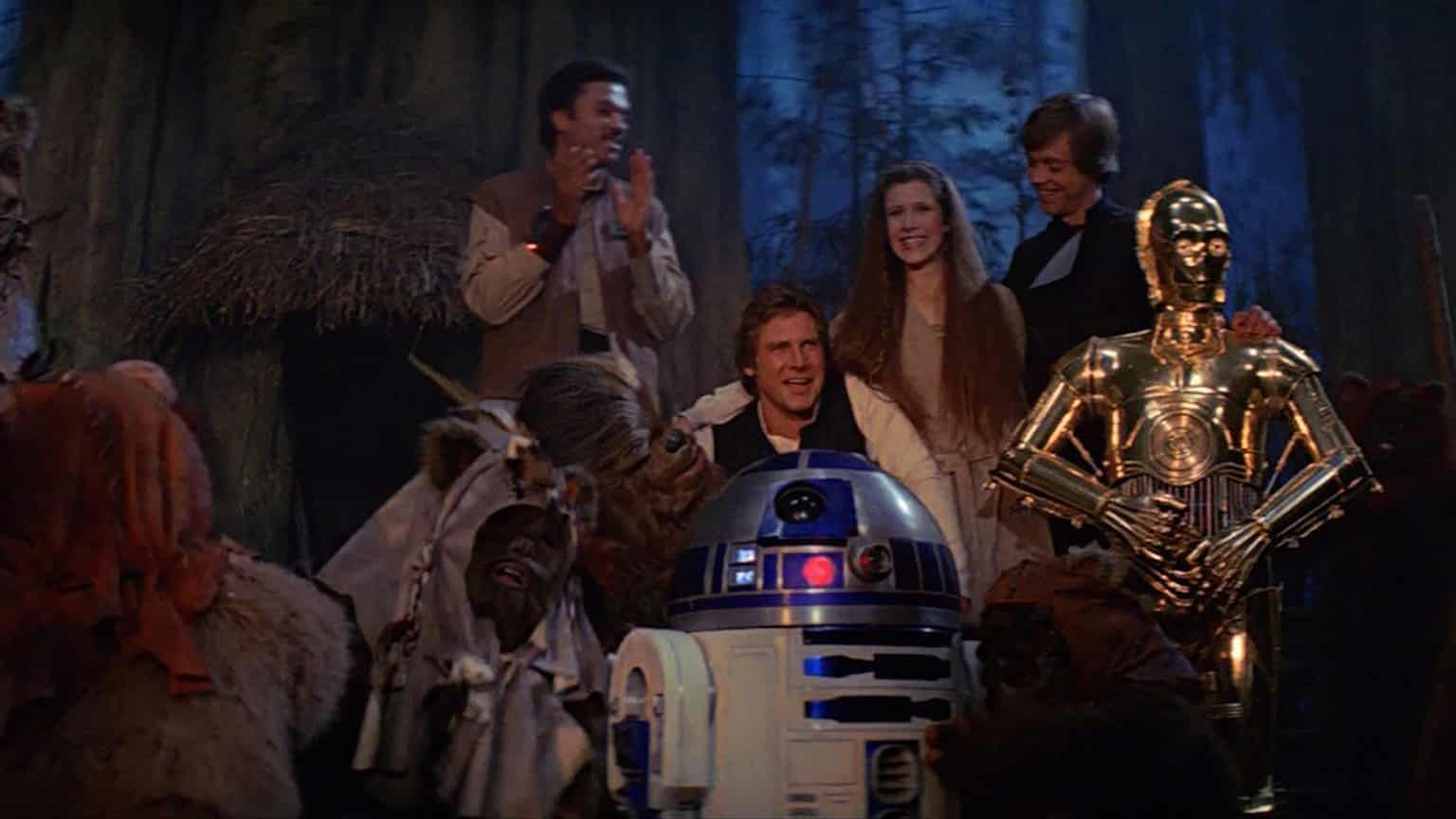 ending Return of the Jedi Reduced Star Wars to a Repeatable Formula George Lucas Gary Kurtz Richard Marquand