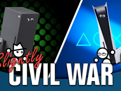 what looks nicer PlayStation 5 vs. Xbox Series X Slightly Civil War Yahtzee Croshaw Jack Packard