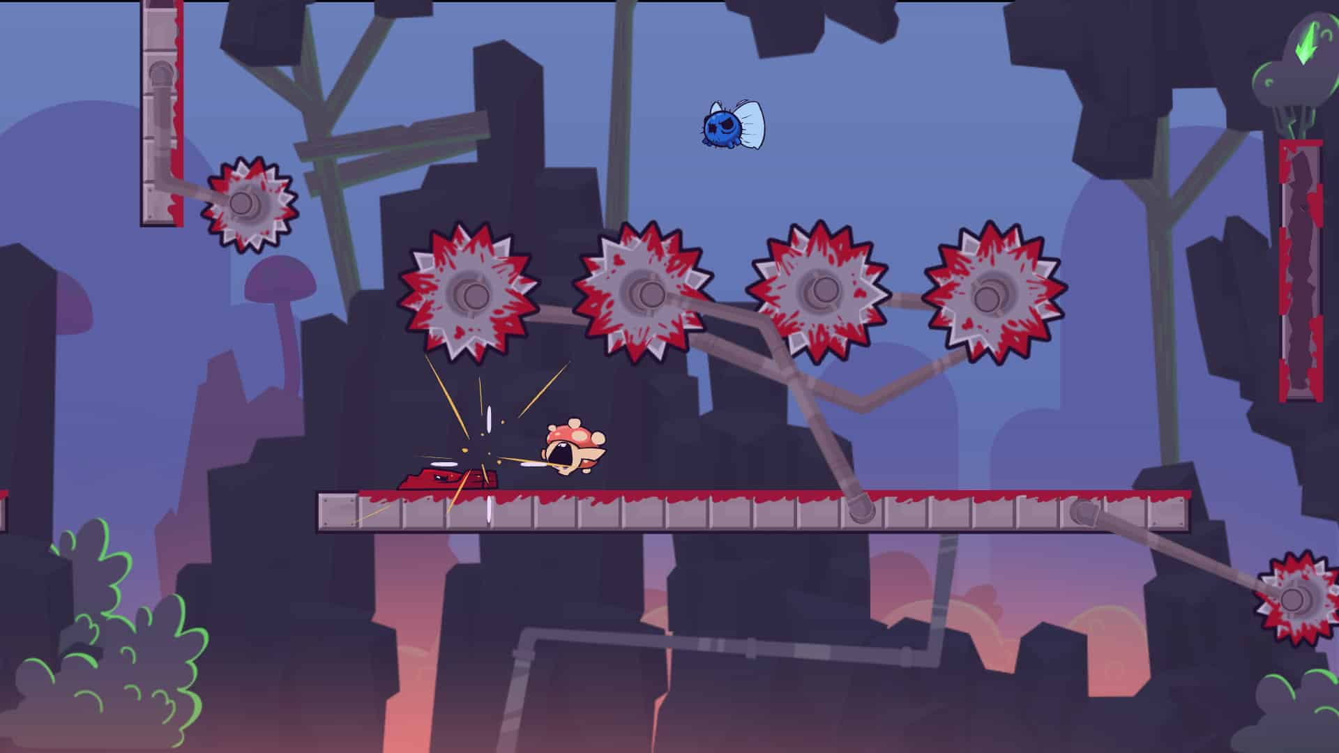 super meat boy forever dying constantly constant video game death fun repeated