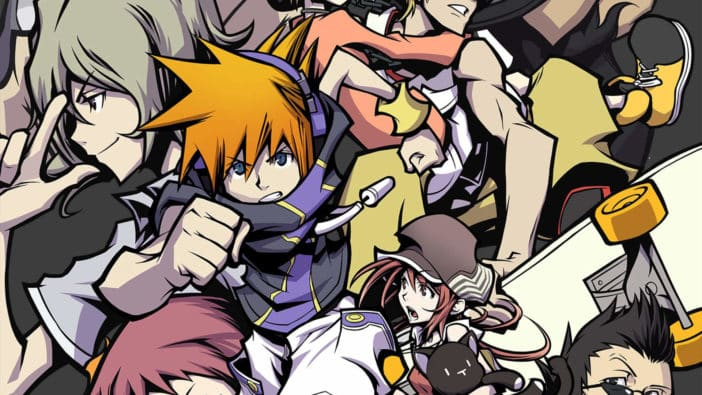 Square Enix The World Ends with You countdown timer website sequel