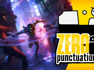 Ghostrunner Zero Punctuation review Yahtzee Croshaw 3D Realms Slipgate Ironworks One More Level 505 Games All in! Games