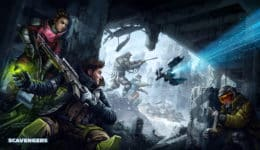 Scavengers preview hands-on Midwinter Entertainment Improbable PvEvP free to play battle royale