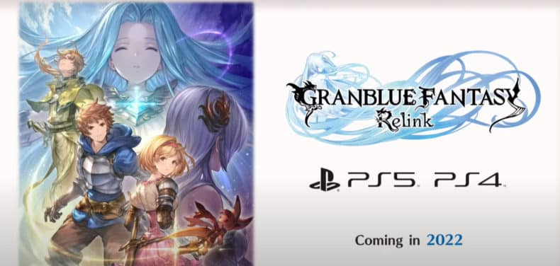 Granblue Fantasy: Relink PlayStation 5 PlayStation 4 Cygames 2022 release date