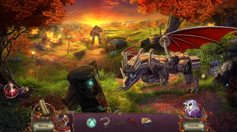 Awakening: The Redleaf Forest hidden-object puzzle adventure HOPA