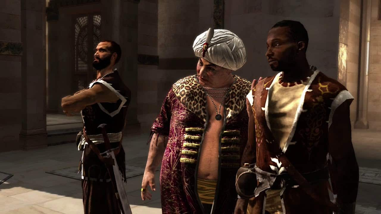 Abul Nuqoud Assassin Templar conflict ideology philosophy is lost in Ubisoft writing of franchise Assassin's Creed Valhalla
