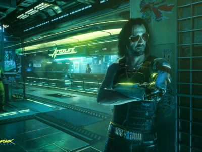 Cyberpunk 2077 Act 1 crowded oppressive atmosphere Johnny Silverhand Keanu Reeves opening hours CDPR CD Projekt Red