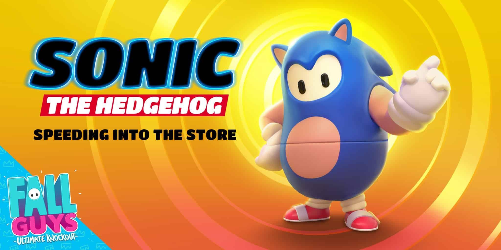 Sonic Fall Guys Sonic the Hedgehog Fall Guys: Ultimate Knockout Sega Mediatonic