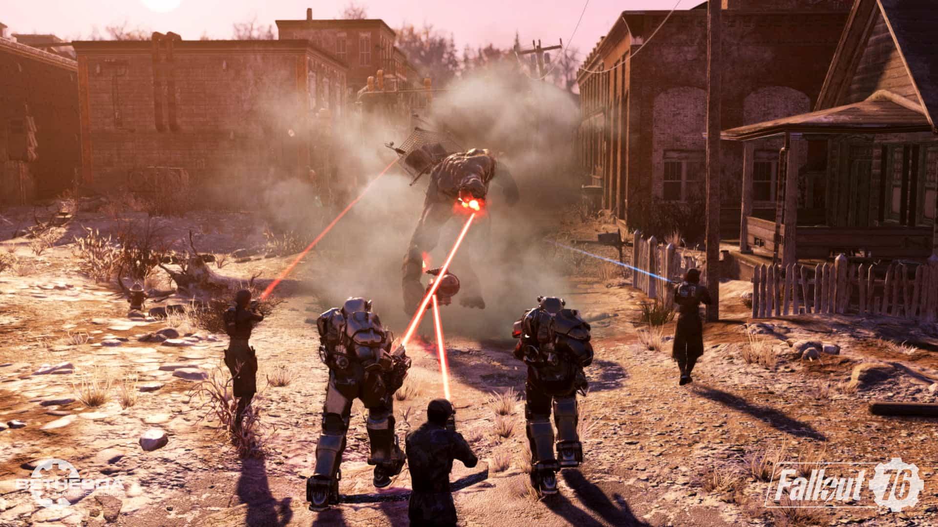 Fallout 76: Steel Dawn Wastelanders redesign expansion Bethesda Game Studios Jeff Gardiner project lead Brianna Schneider senior quest designer