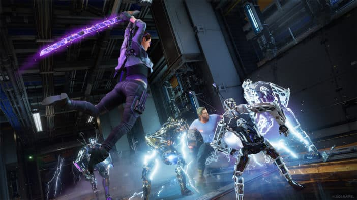 Crystal Dynamics Square Enix Marvels Avengers Kate Bishop Taking Aim expansion Marvel's Avengers