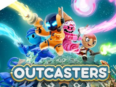 Outcasters review Splash Damage Google Stadia Games and Entertainment exclusive twin-stick shooter