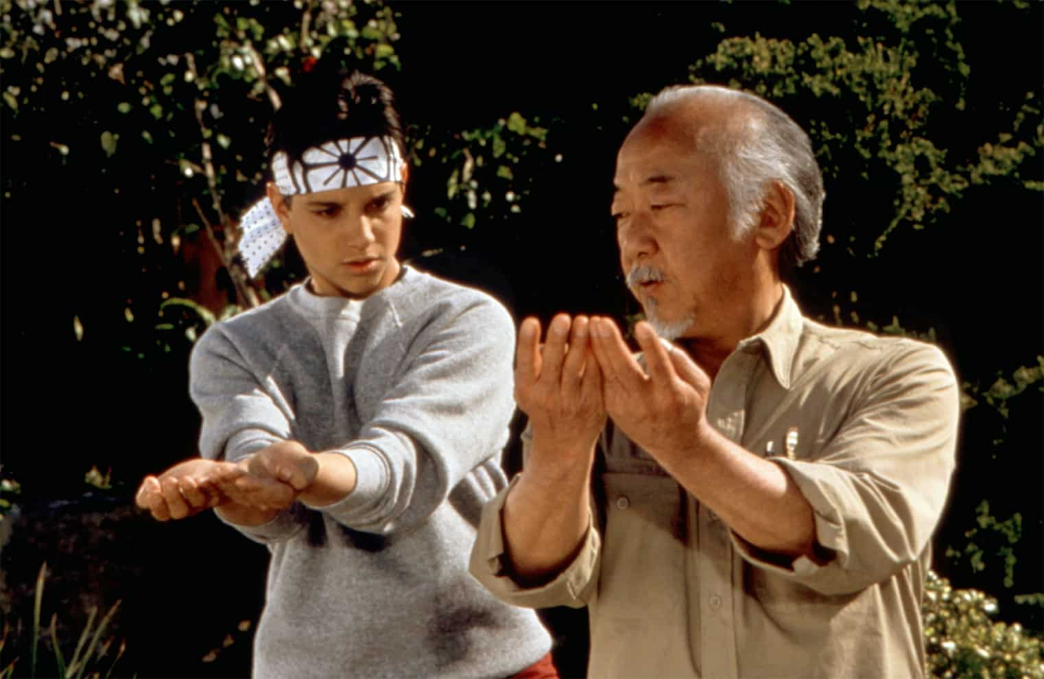 The Karate Kid Movies Explore Hollywood Complicated Martial Arts History The Karate Kid Part II Part III Cobra Kai