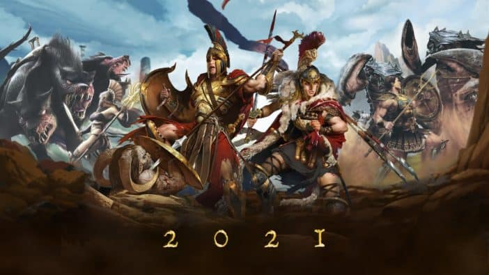 probably titan quest 2021 teaser handygames thq nordic