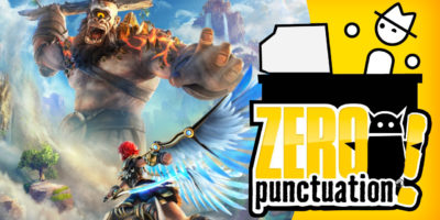 Immortals Fenyx Rising Zero Punctuation review Yahtzee Croshaw Ubisoft The Legend of Zelda: Breath of the Wild
