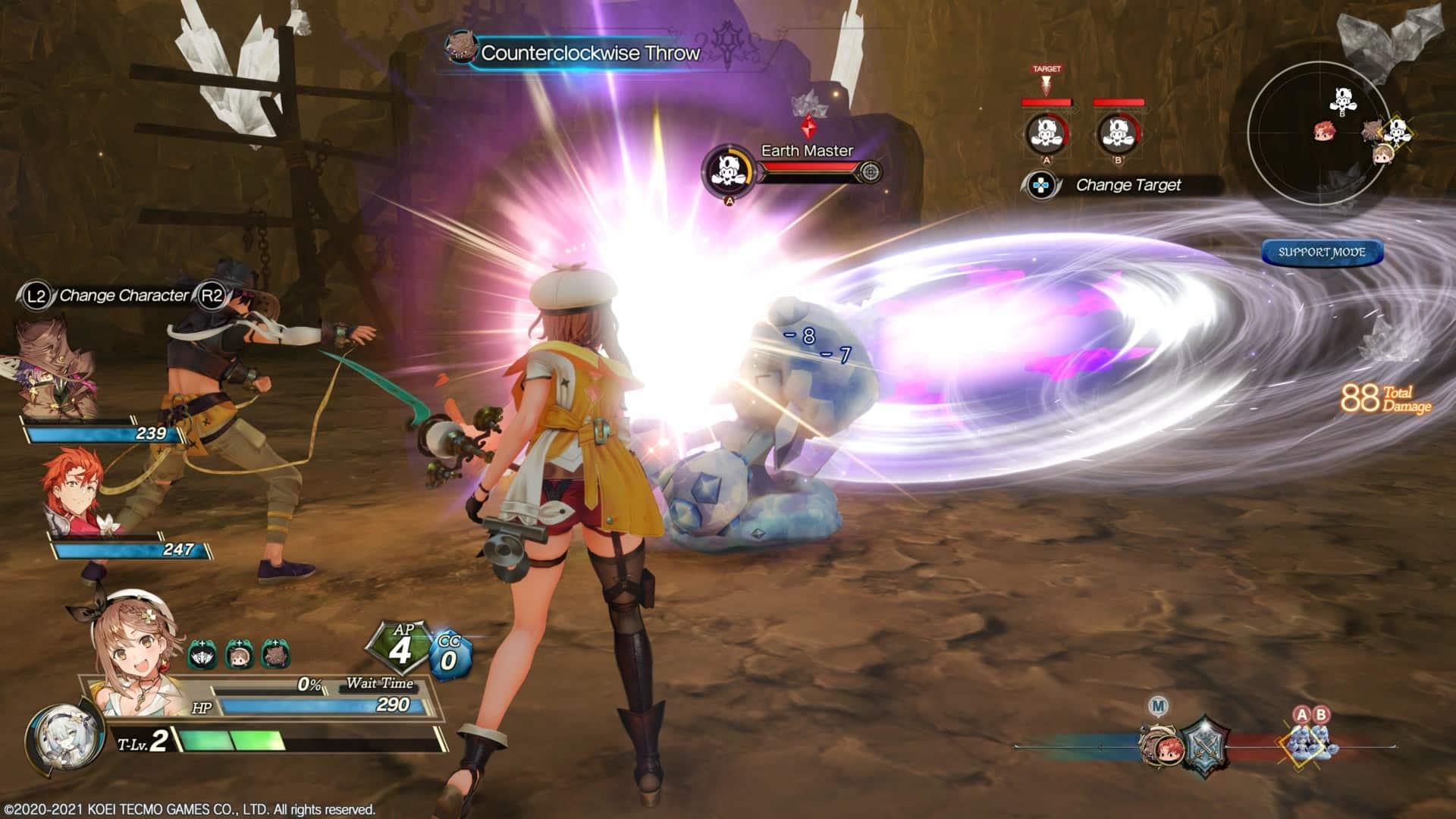 Ryza in Battle Atelier Ryza 2: Lost Legends & the Secret Fairy Review Playstation 5 Koei Tecmo Gust