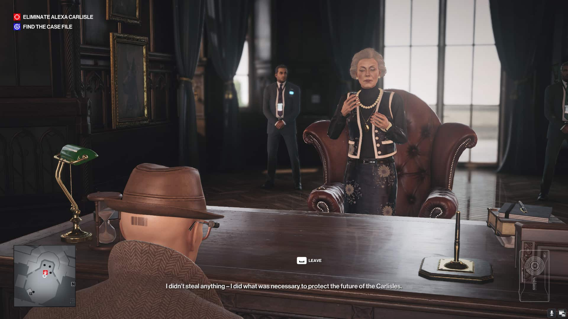 IO Interactive Hitman 3 video game gimmicks involve player Agent 47 in story narrative