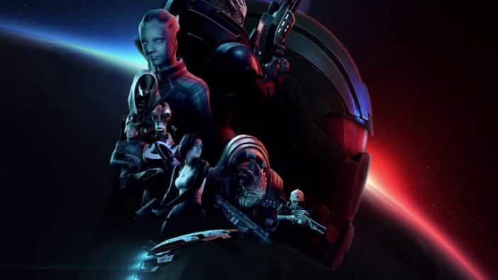 Mass Effect Legendary Edition release date March Asian retailers