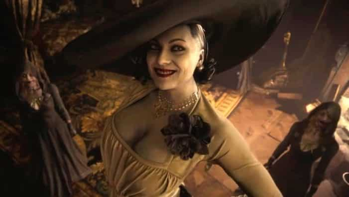 Lady Alcina Dimitrescu Tall Vampire Lady Resident Evil tentacle monsters Resident Evil Village, Capcom, Resident Evil Showcase, demo, gameplay, maiden