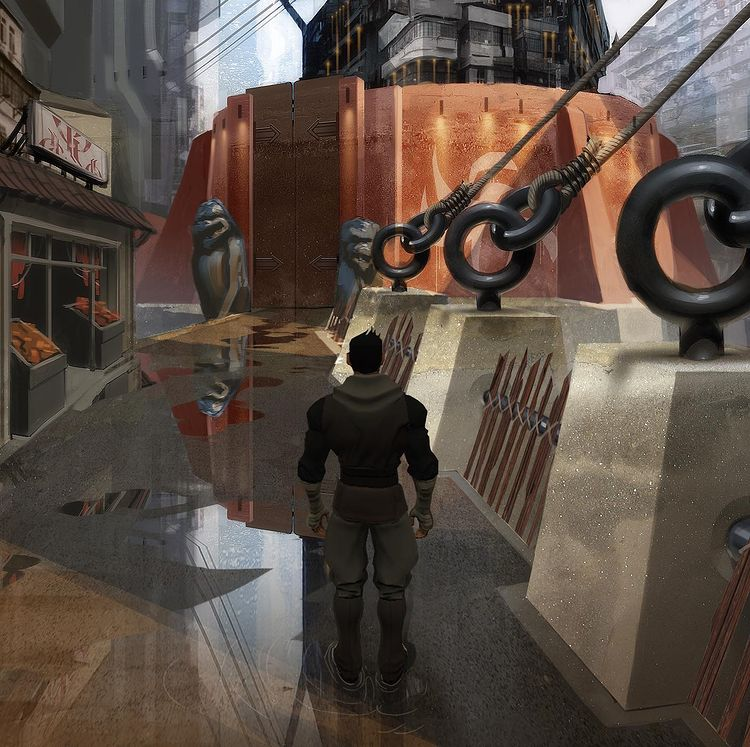 project revolver matt rhodes bioware art director concept art jade empire spiritual successor sequel